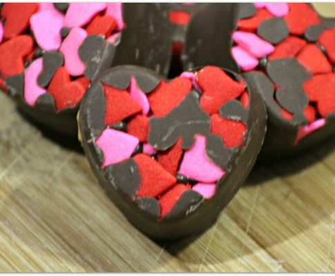 Almond Butter Truffles for Valentine's Day