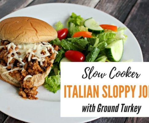 Slow Cooker Italian Sloppy Joes