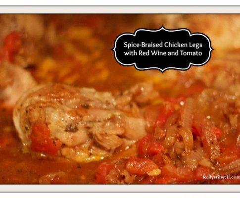 Spiced Braised Chicken Legs