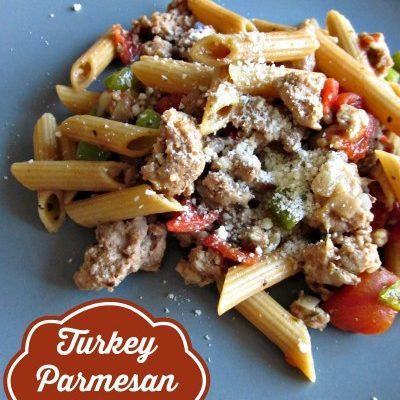 Turkey Parmesan Pasta