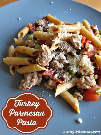 Turkey Parmesan Pasta