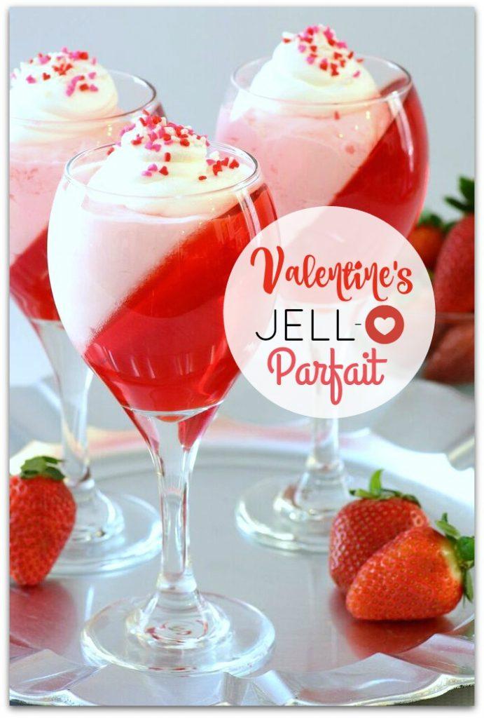 Valentine's Jello Parfait