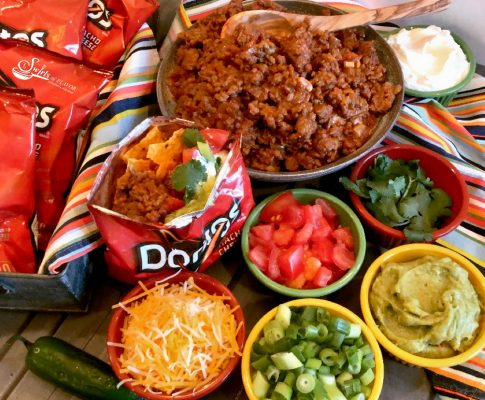Walking Taco Bar Recipe