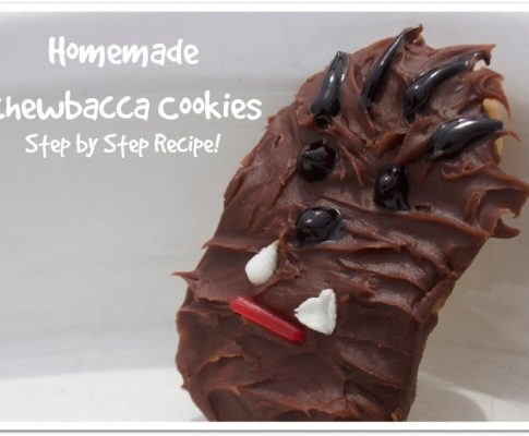 Easy Chewbacca Cookies