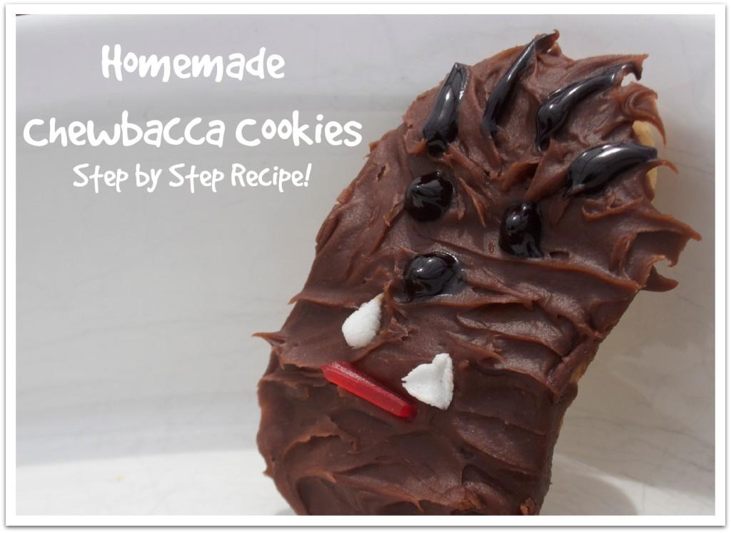 Easy Chewbacca Cookies