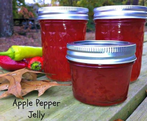 Apple Pepper Jelly Recipe