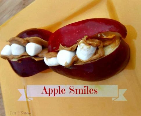 Apple Smiles Fun Snack or Treat