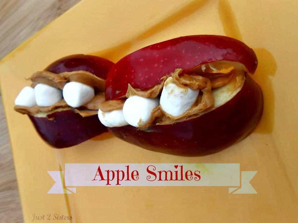 Apple Smiles Snacks