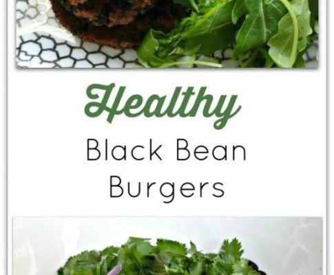 Healthy Black Bean Burgers