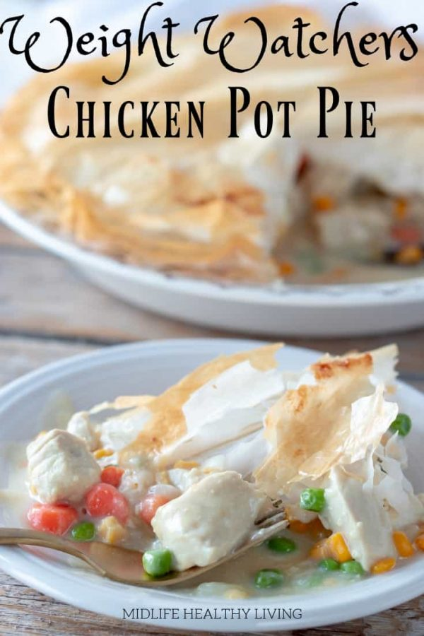There is nothing better when it comes to comfort food than chicken pot pie! This delicious and healthy Weight Watchers chicken pot pie is easy to make and very low in points.