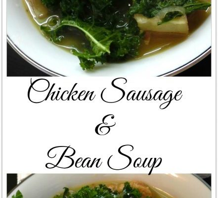 Hearty Chicken Sausage and Bean Soup