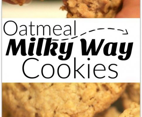 Oatmeal Milky Way Cookies Recipe