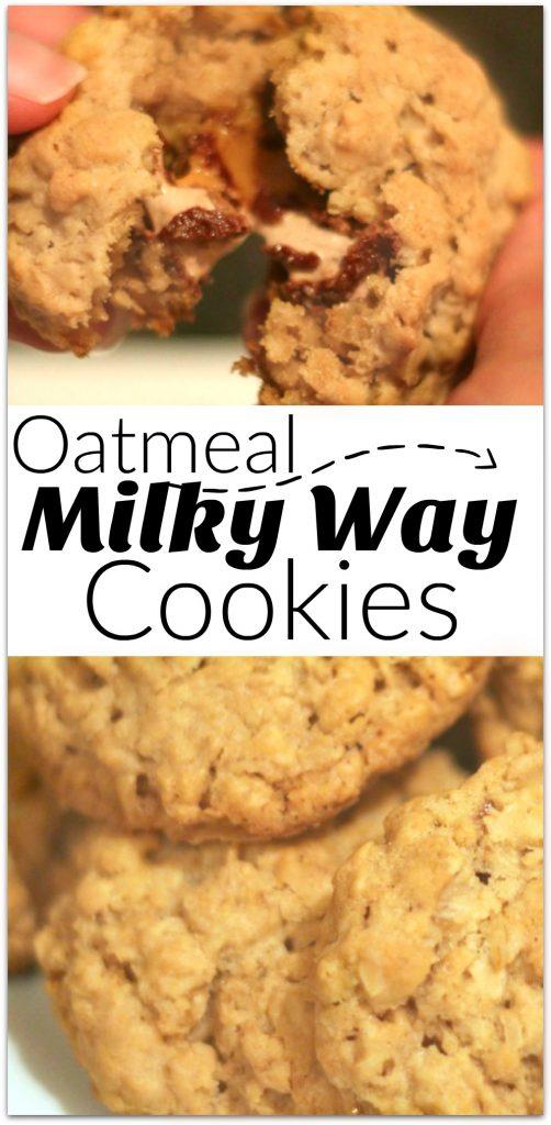 Oatmeal Milky Way Cookies Recipe