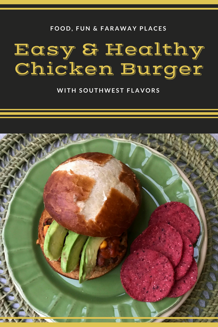 Healthy Chicken Burger Recipe