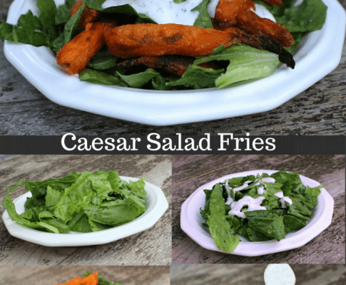 Caesar Salad Fries