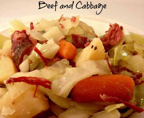 Crock Pot Corned Beef and Cabbage While I have never thought about myself as Irish, I do have some Irish heritage. My maternal grandmother's maiden name was Flannigan, so I assume that gives me some Irish blood.