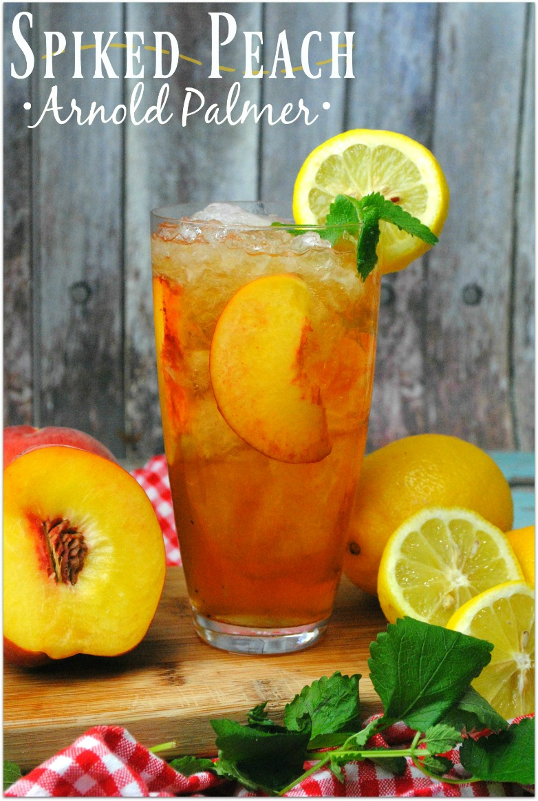 Spiked Peach Arnold Palmer