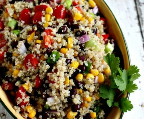 The Tastiest Quinoa Salad Recipe!